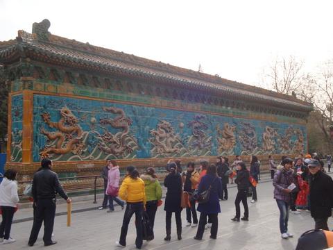 Three Dragon Walls of China